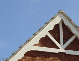 Decorative Barge, Tudor Boards and Eaves Details