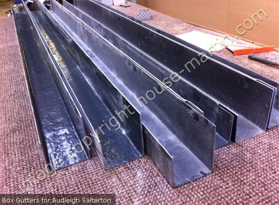 House Martin Construction Grp Box Gutters Radius And