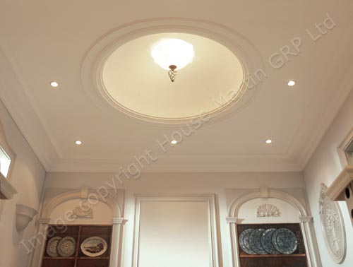 House Martin Construction Decorative Ceiling Domes And