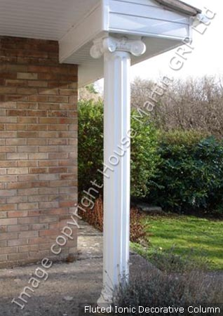 House Martin Construction Exterior Decorative Ionic