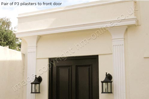 Door Pilasters Uk Bradgate Door Surround