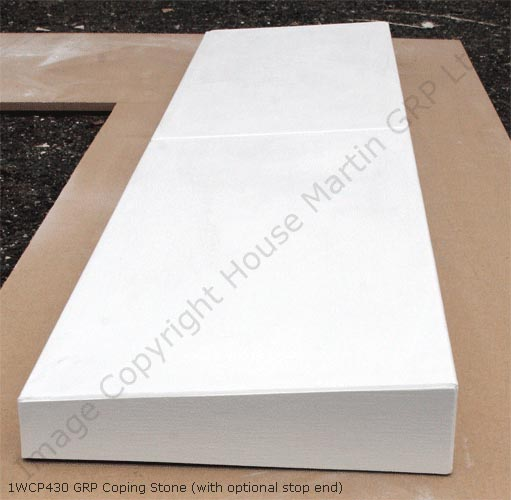 House Martin Construction Lightweight And Durable Grp Coping